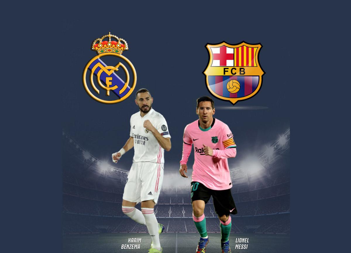 Canlı Maç İzle! Real Madrid – Barcelona maçı ne zaman, saat kaçta? El Clasico hangi kanalda yayınlanacak?