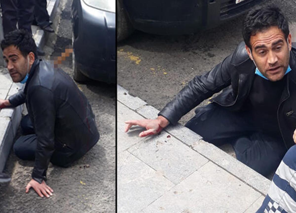 Erzurum'da dehşet! Sırtındaki bıçakla hastaneye götürüldü