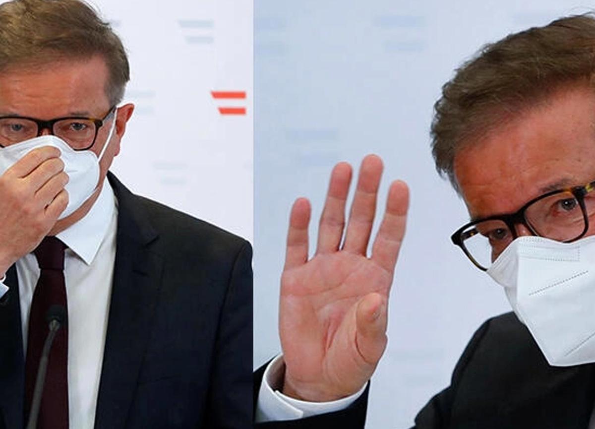 Avusturya'da büyük şok! Sağlık Bakanı istifa etti