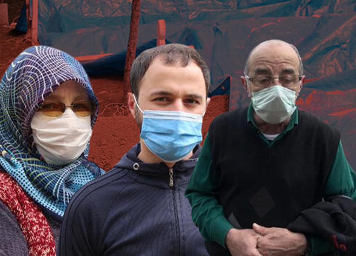 Rize'de aynı aileden 8 kişi koronavirüsten öldü!