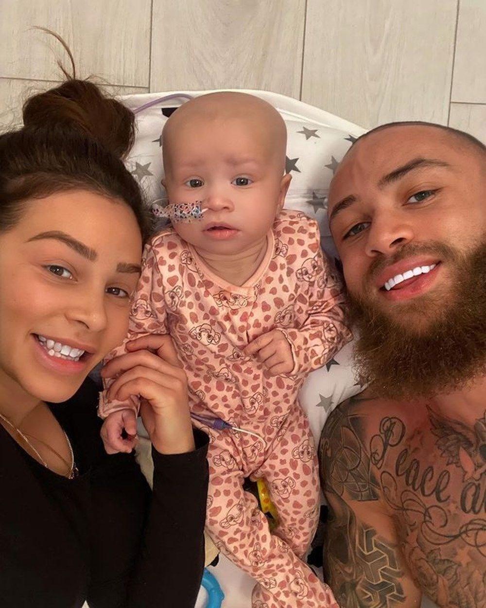 Ashley Caine ve Safiyya Vorajee bebeklerinin son durumunu anlattı: Bu sabah uyanması bir nimettir