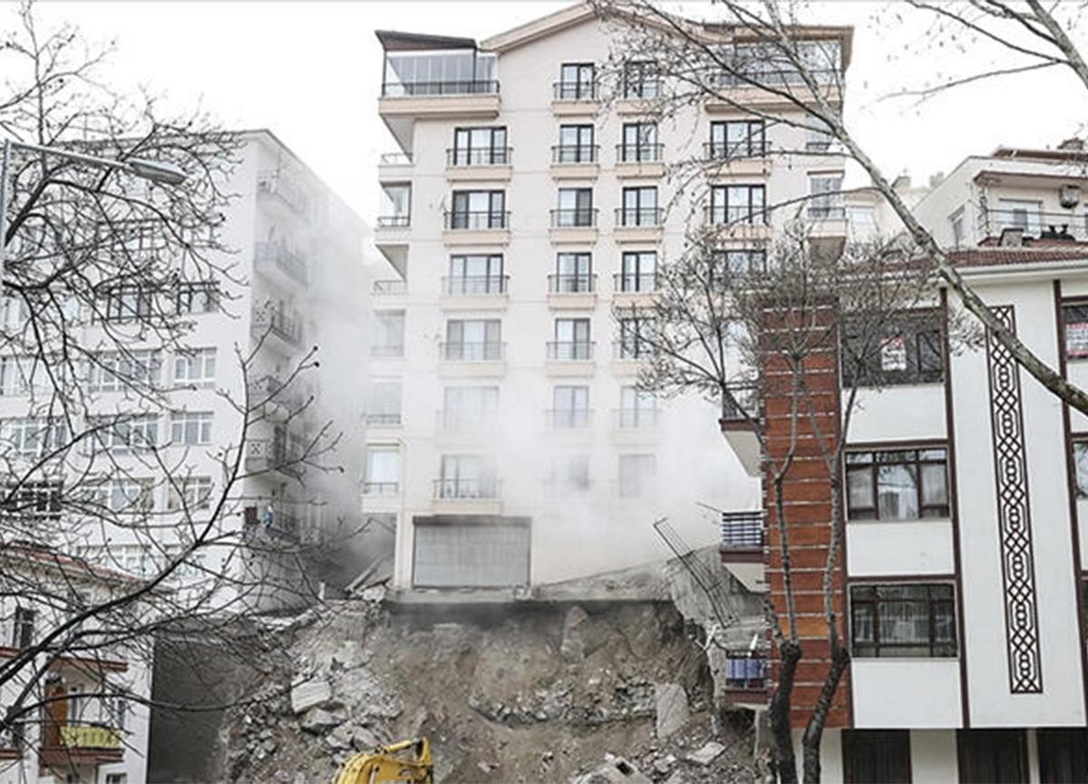 Ankara'da 11 bina boşaltılmıştı! O mağdurlara yardım edilecek