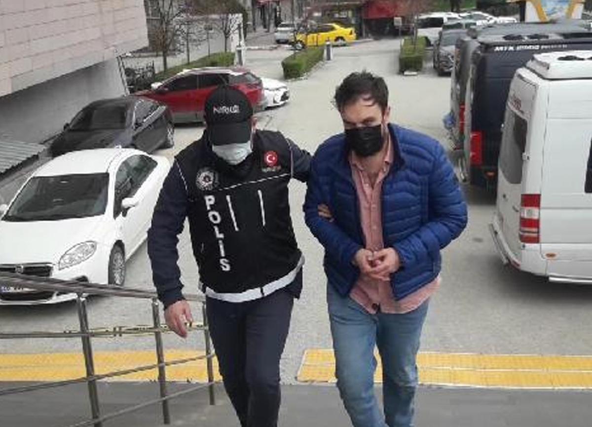 Kısıtlamada evlere uyuşturucu servisi yapan zanlı tutuklandı