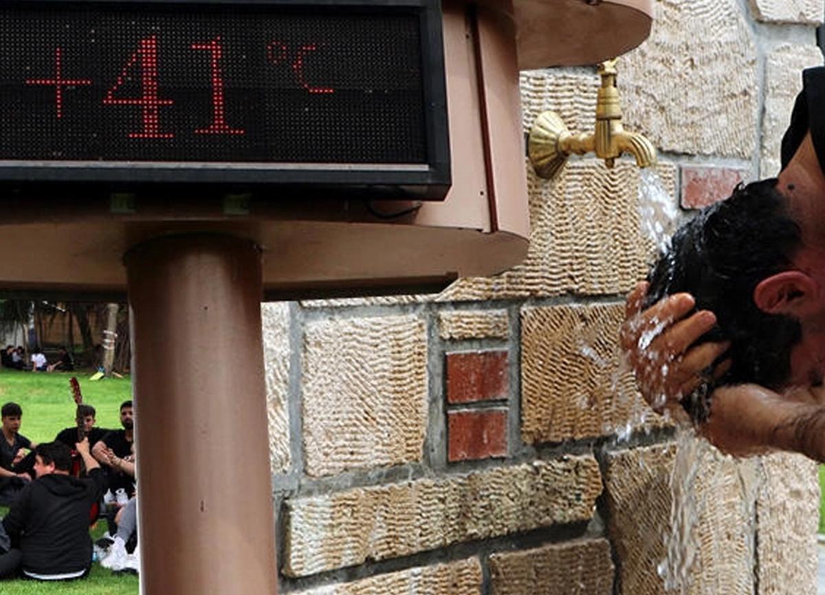 Adana'da termometreler 41 dereceyi gördü!