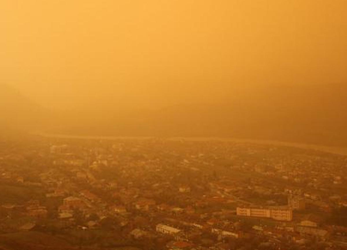 Afrika'dan gelen toz taşınımıyla ilgili son dakika uyarısı