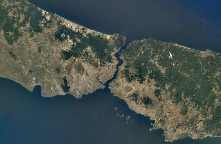 Google'ın uydu görüntülerinden İstanbul'un 36 yıllık değişimi