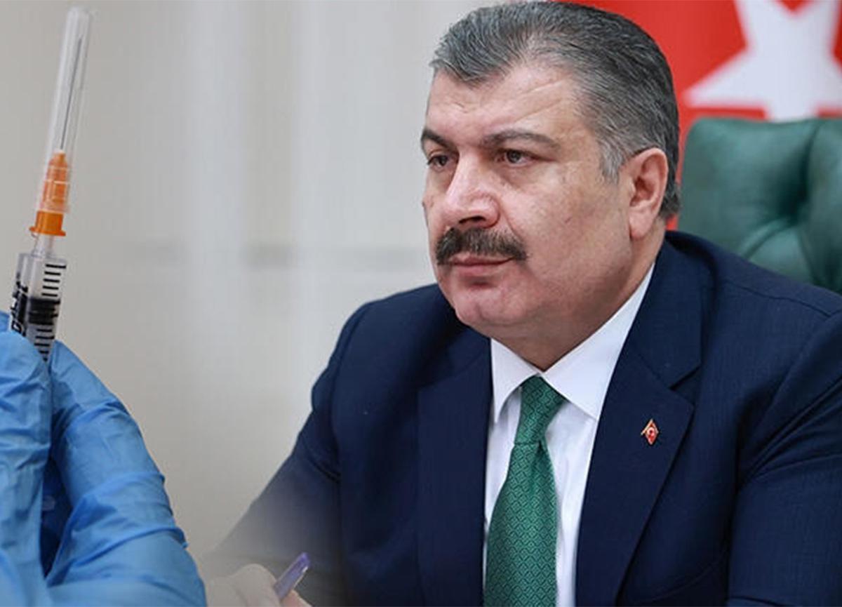 Sağlık Bakanı Fahrettin Koca'dan flaş aşı açıklaması!