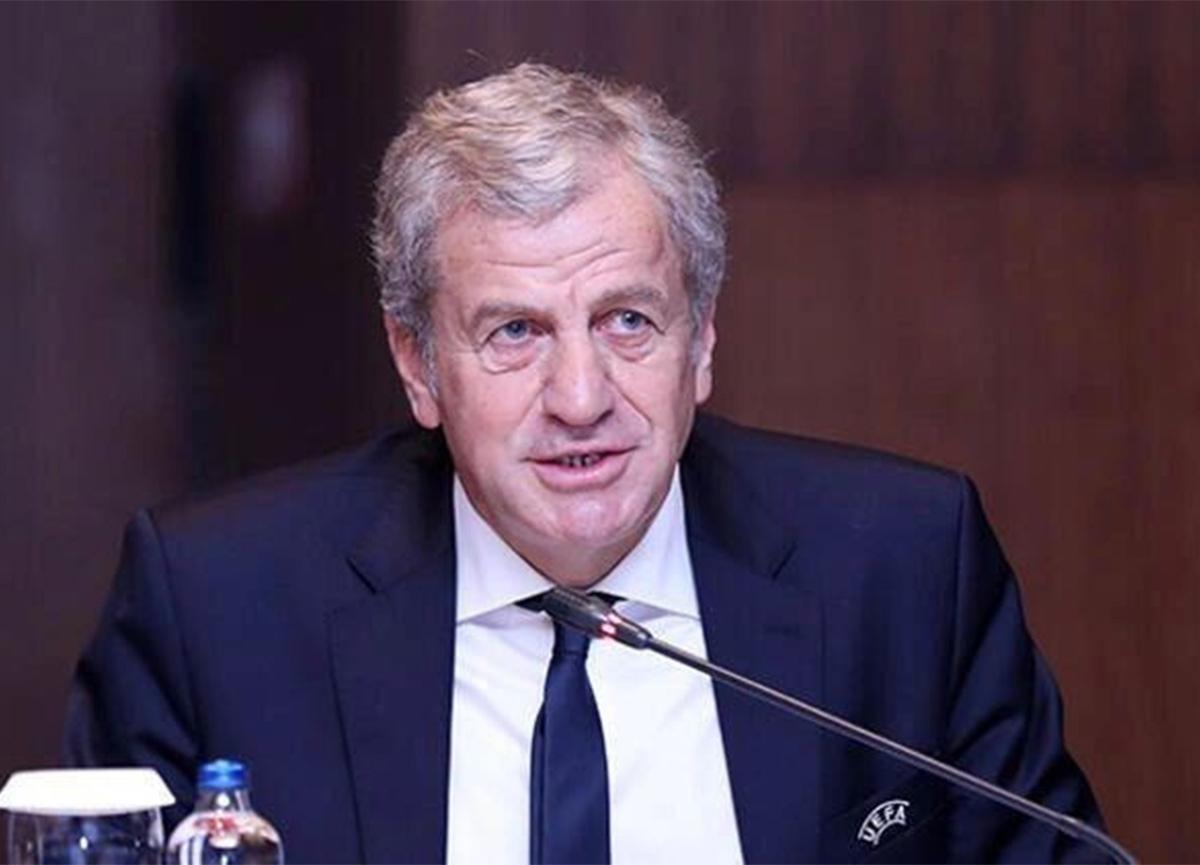 Servet Yardımcı yeniden UEFA Yönetim Kurulu'na seçildi