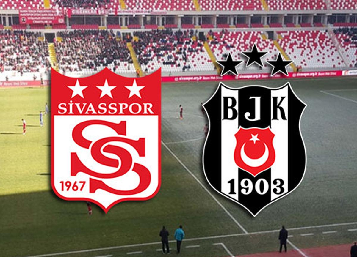 Sivasspor Beşiktaş maçı bu akşam saat kaçta hangi kanalda canlı izlenecek?