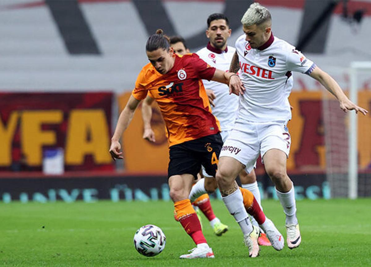 Galatasaray - Trabzonspor maç sonucu: 1 - 1