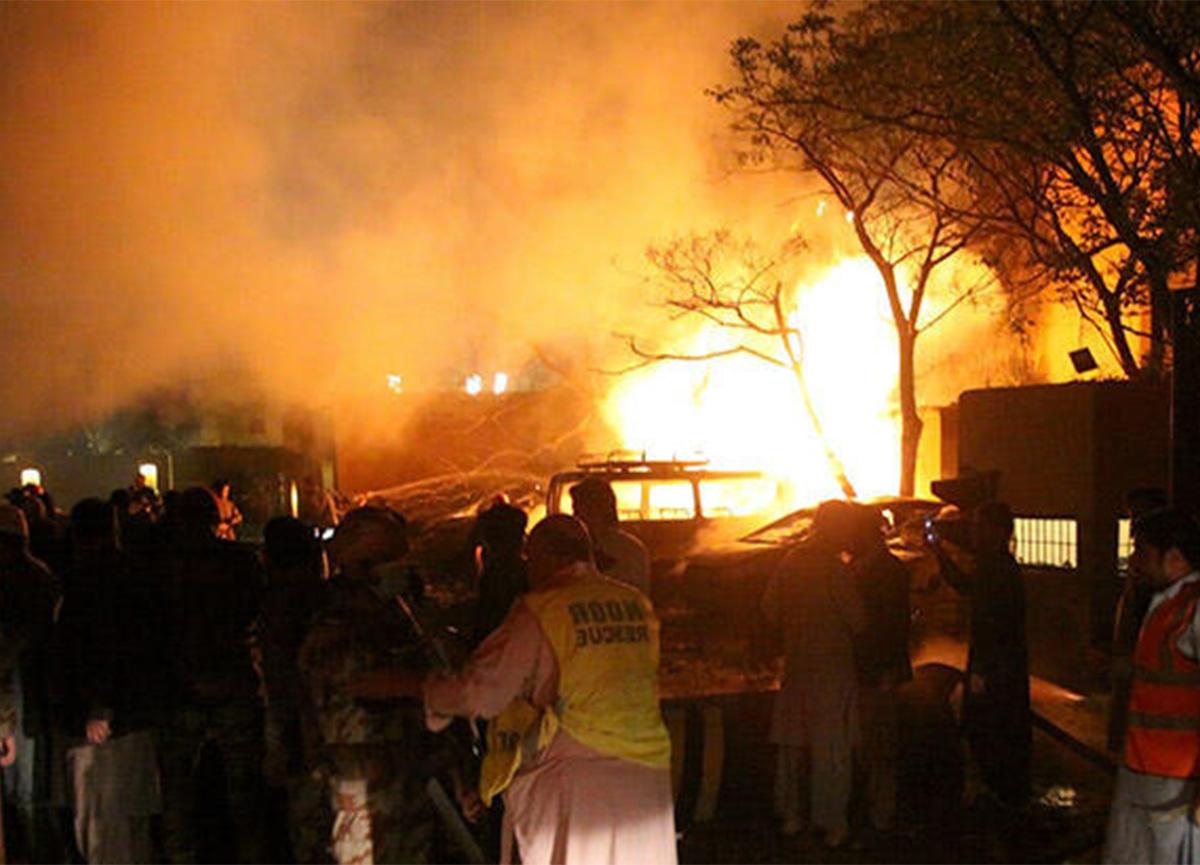 Pakistan'da patlama! Çok sayıda ölü ve yaralı var