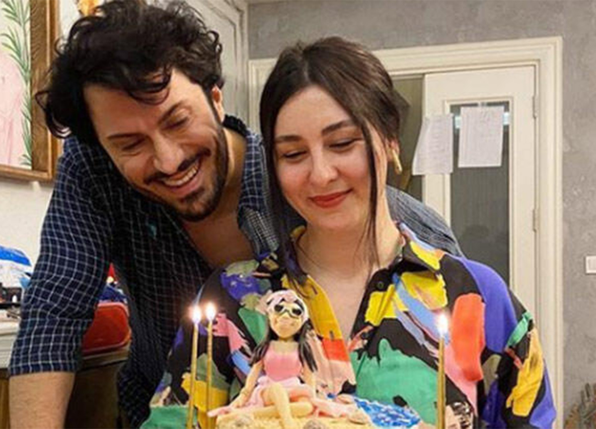 Yasemin Sakallıoğlu'na eşinden doğum günü sürprizi!