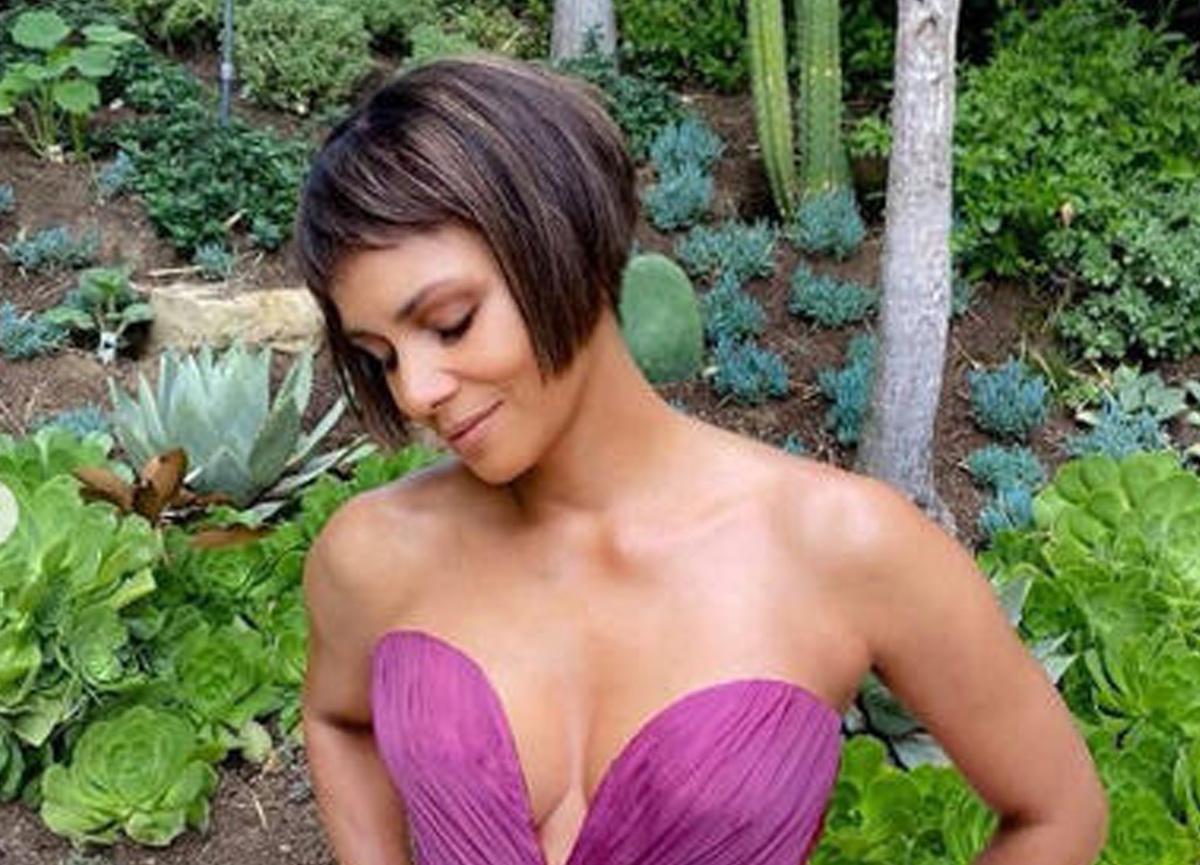 Halle Berry'nin yeni tarzı dikkat çekti