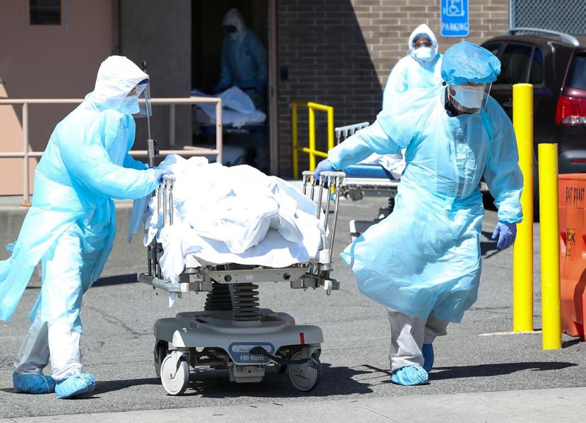 Amerika'da koronavirüsten ölenlerin sayısı 572 bin 200'e yükseldi