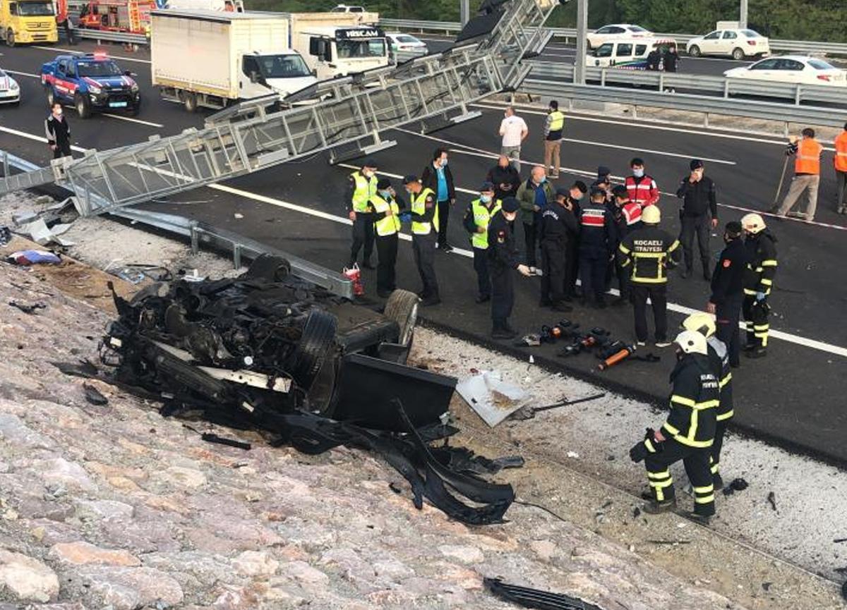 Kuzey Marmara Otoyolu'nda feci kaza! 3 kişi hayatını kaybetti