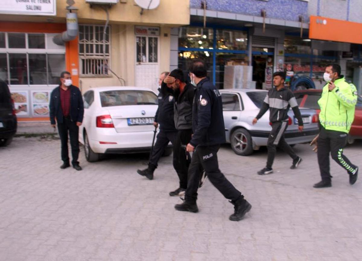 Tekme, tokat kavgada 5 kişi yaralandı, 7 kişi gözaltına alındı