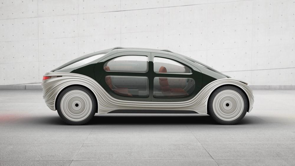 Atmosferi temizleyen sürücüsüz otomobil 2023'te yollarda olacak: Çift kişilik yatağı ve oyun salonu var