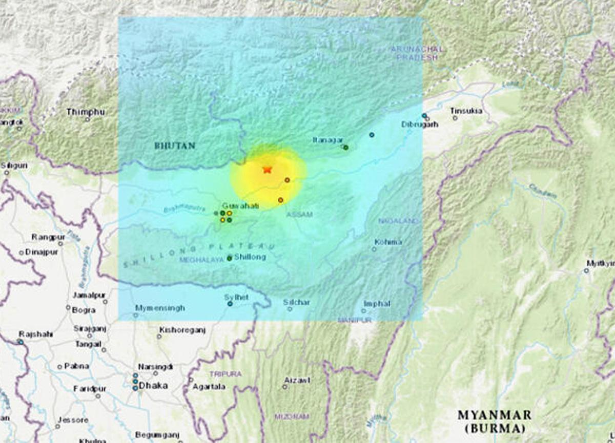 6 büyüklüğünde deprem 5 ülkeyi salladı!