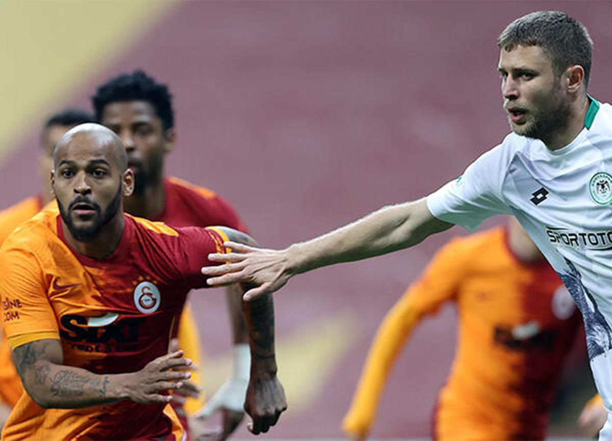 Galatasaray - Konyaspor mücadelesi sona erdi: 1 - 0