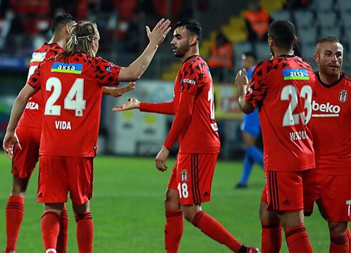 Beşiktaş, deplasmanda Çaykur Rizespor'u 3-2 mağlup etti