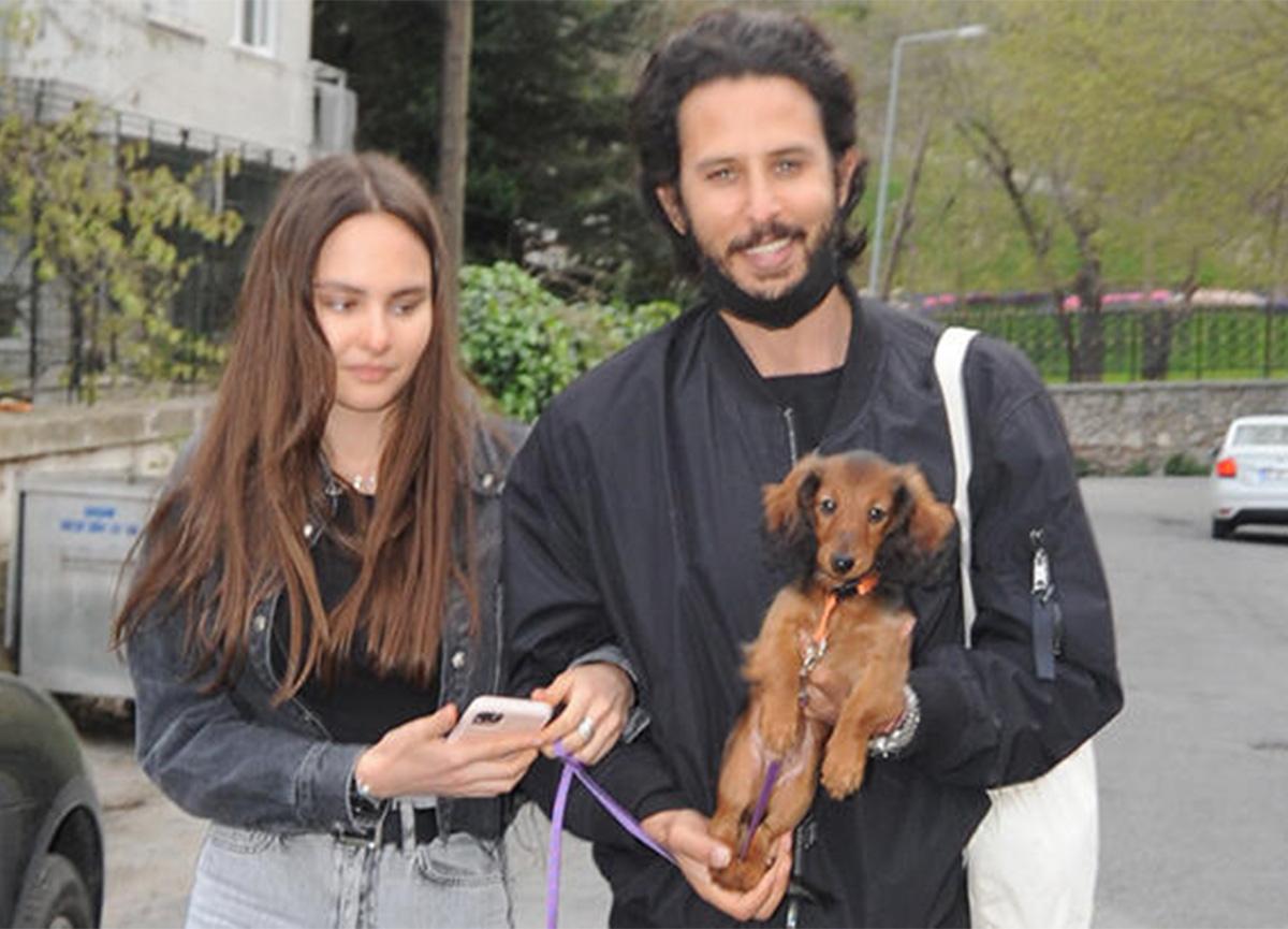 Oyuncu Tuan Tunalı, sevgilisine köpek aldı