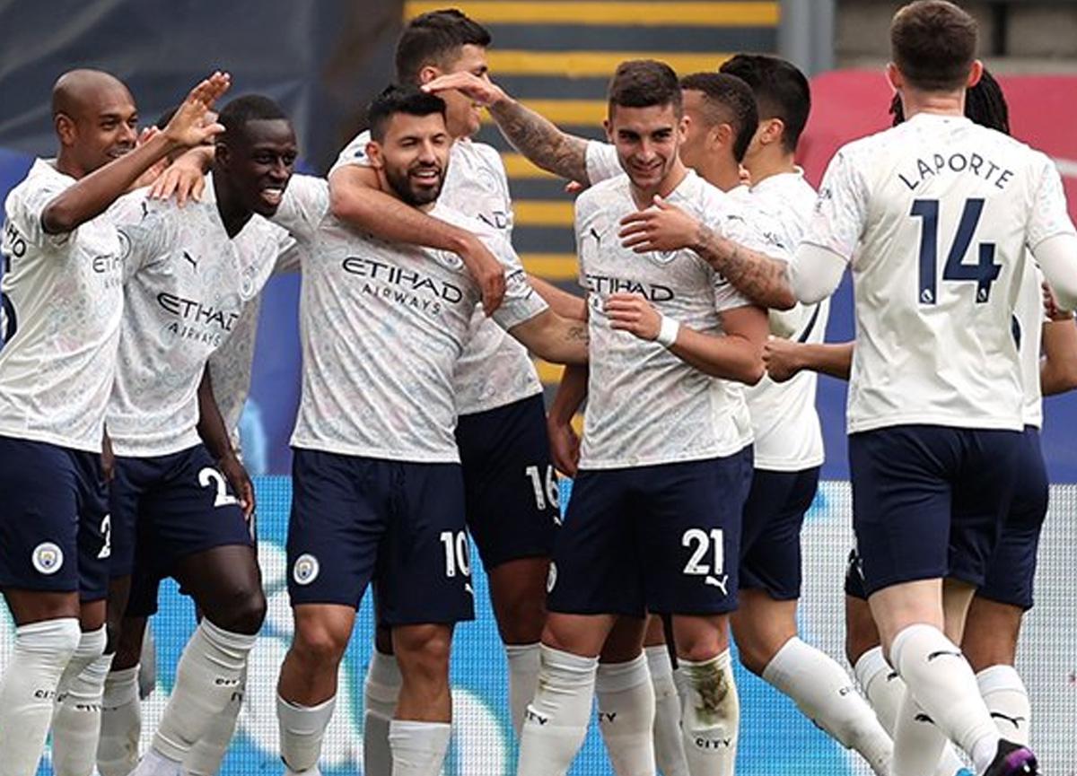 Manchester City deplasmanda Crystal Palace'ı 2-0 mağlup etti