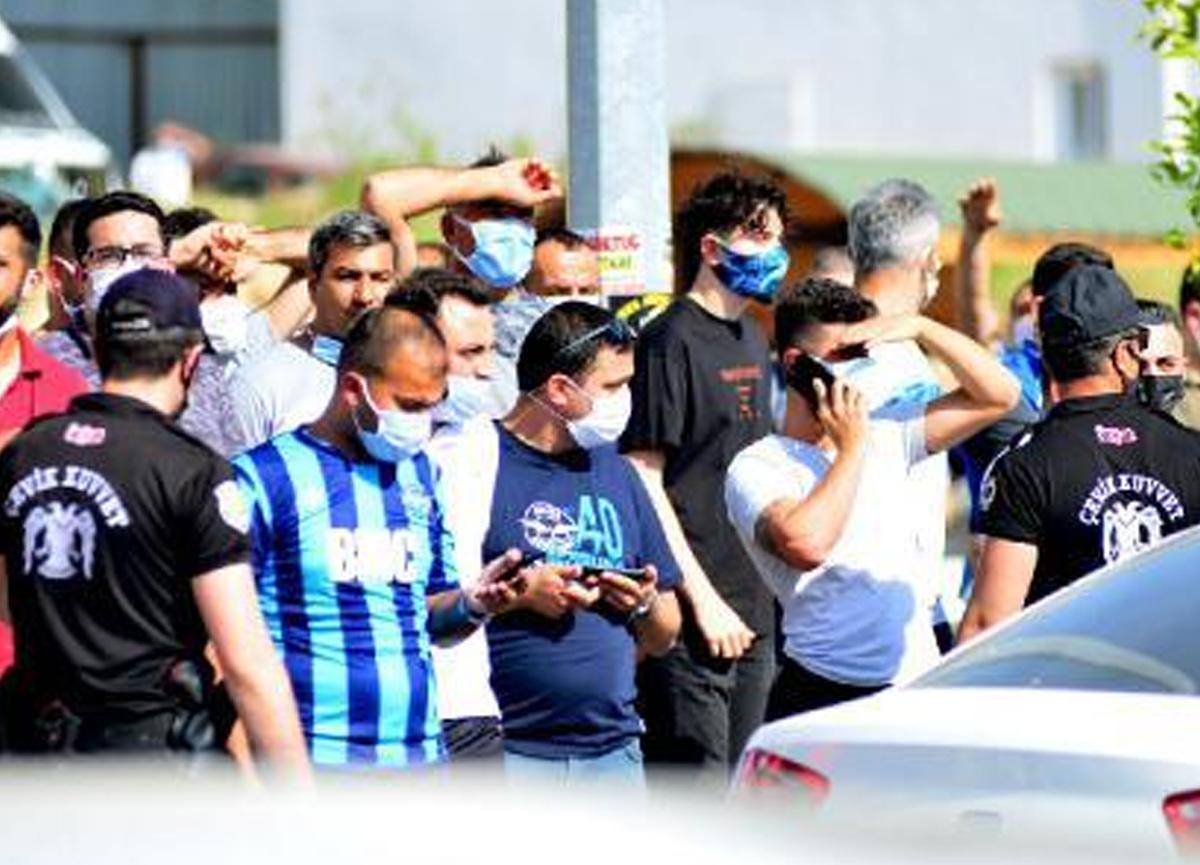 Adanalılar tam kapanma dinlemedi, taraftar sokağa döküldü