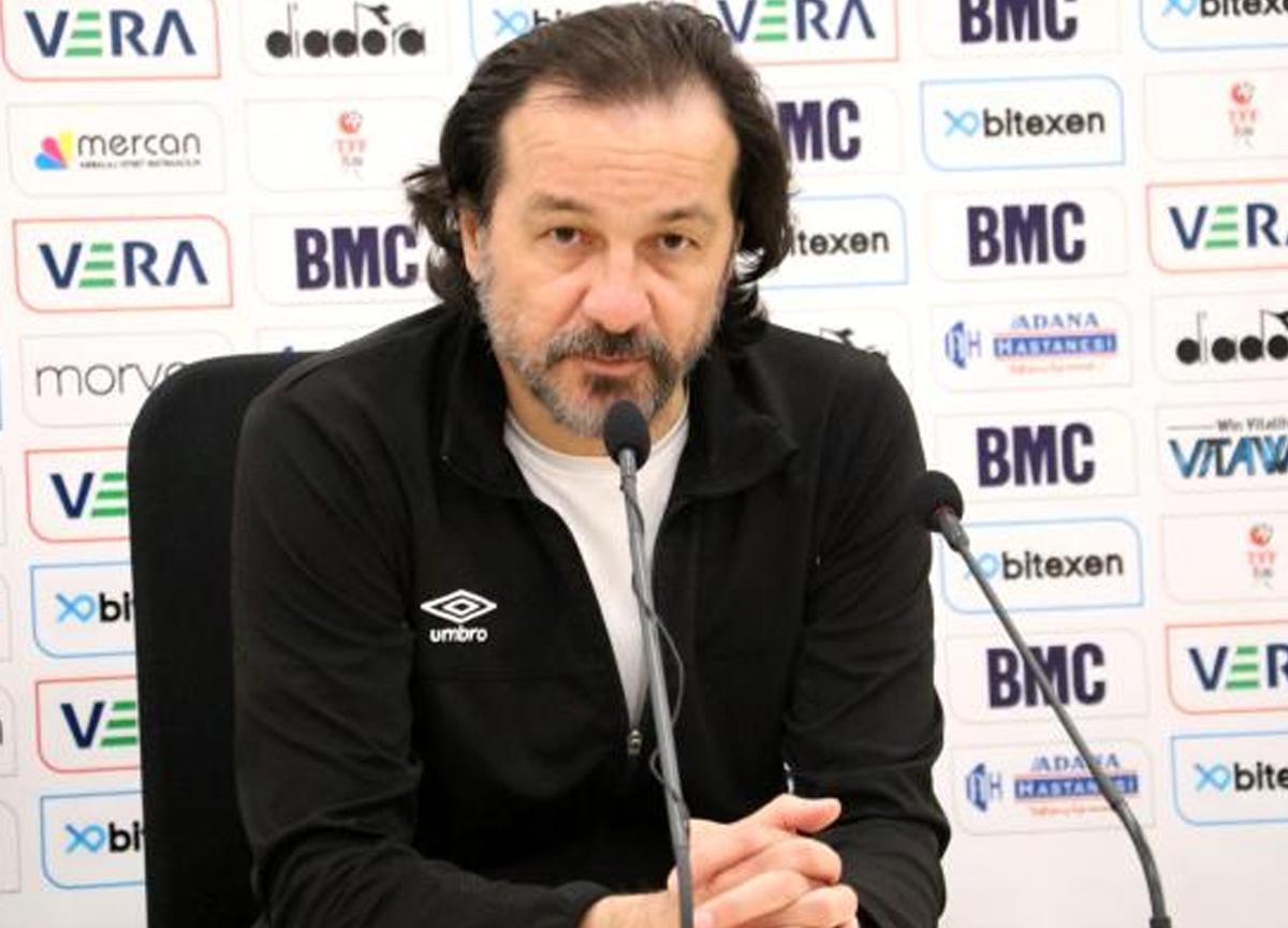 Balıkesirspor Teknik Direktörü Yusuf Şimşek: Biz maçımızı gururumuzla oynadık
