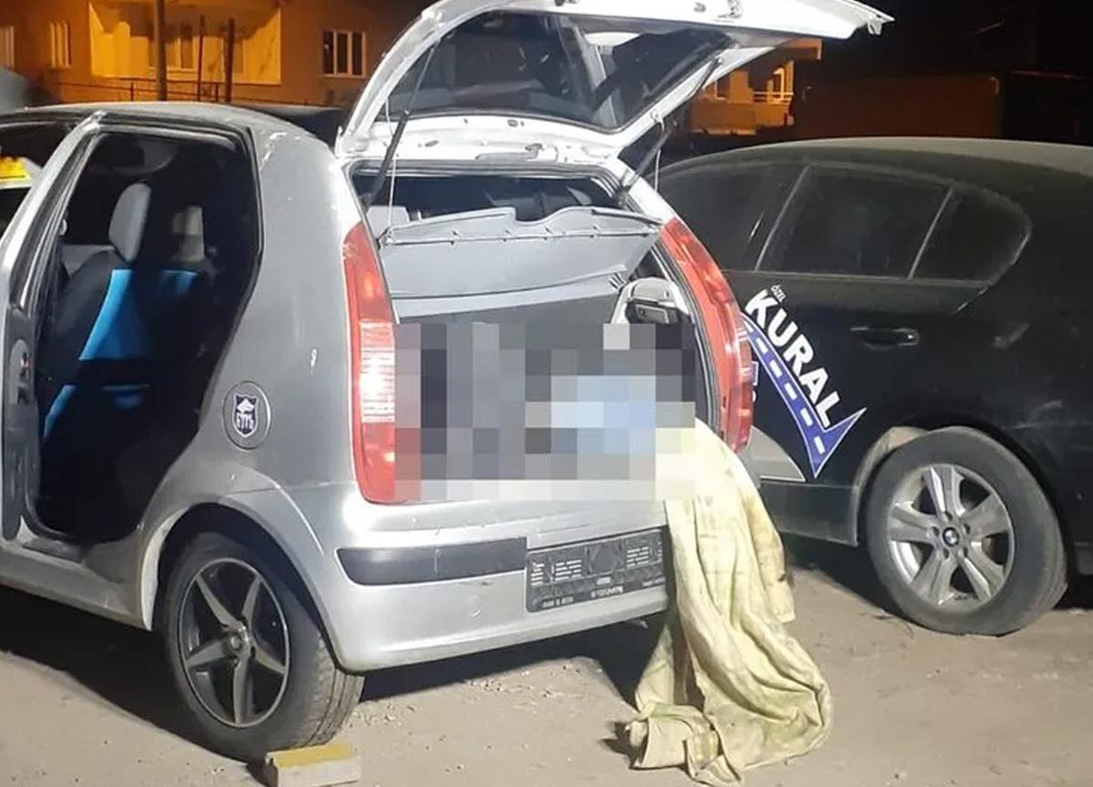 Bursa'da kan donduran olay! Otomobilin bagajında erkek cesedi bulundu