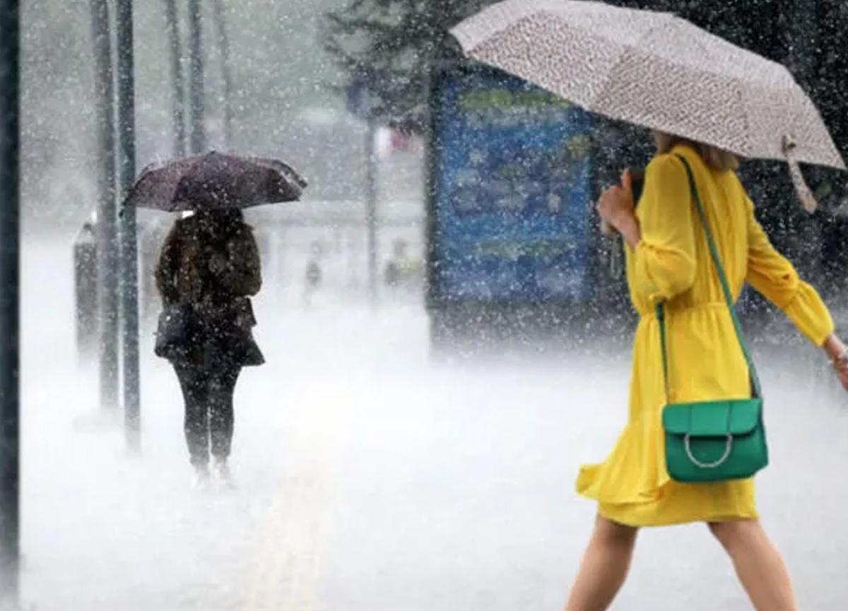 Meteoroloji yurdun bazı bölgeleri için sağanak yağış uyarısında bulundu