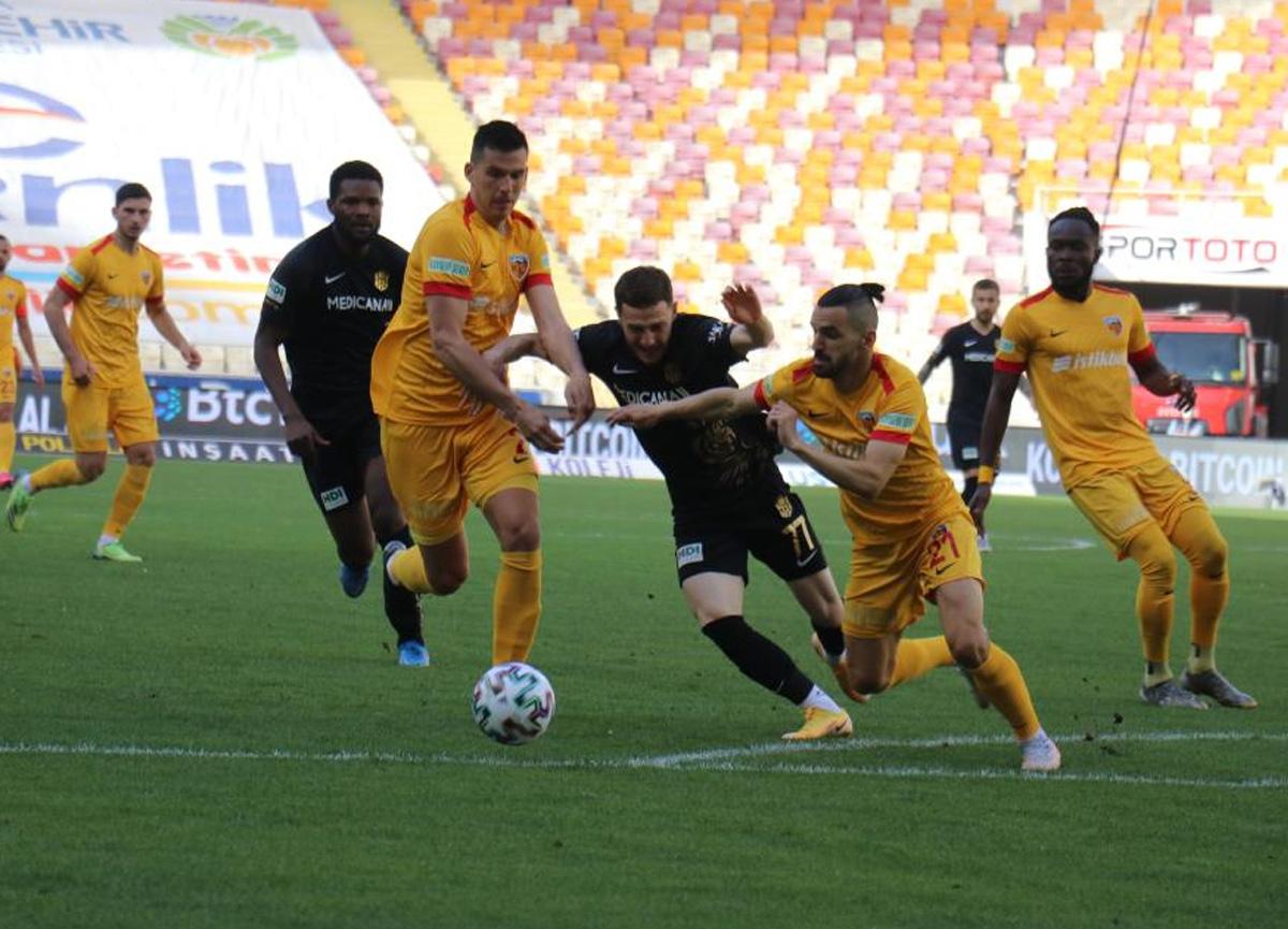 Yeni Malatyaspor evinde Kayserispor ile 1-1 berabere kaldı