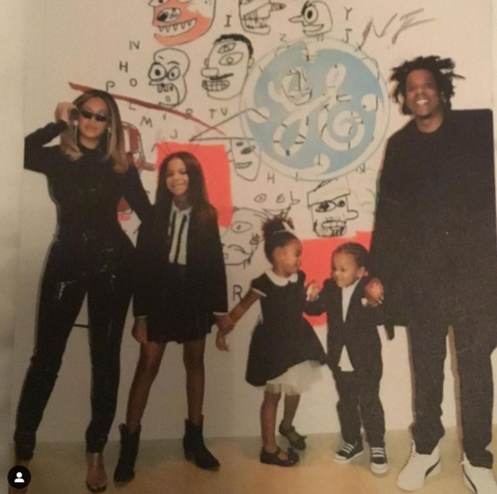 Beyonce'den yeni aile fotoğrafı