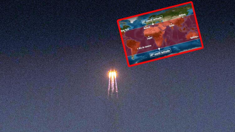 Çin'in uzaya gönderdiği roket kontrolden çıktı! Türkiye'ye düşebilir...