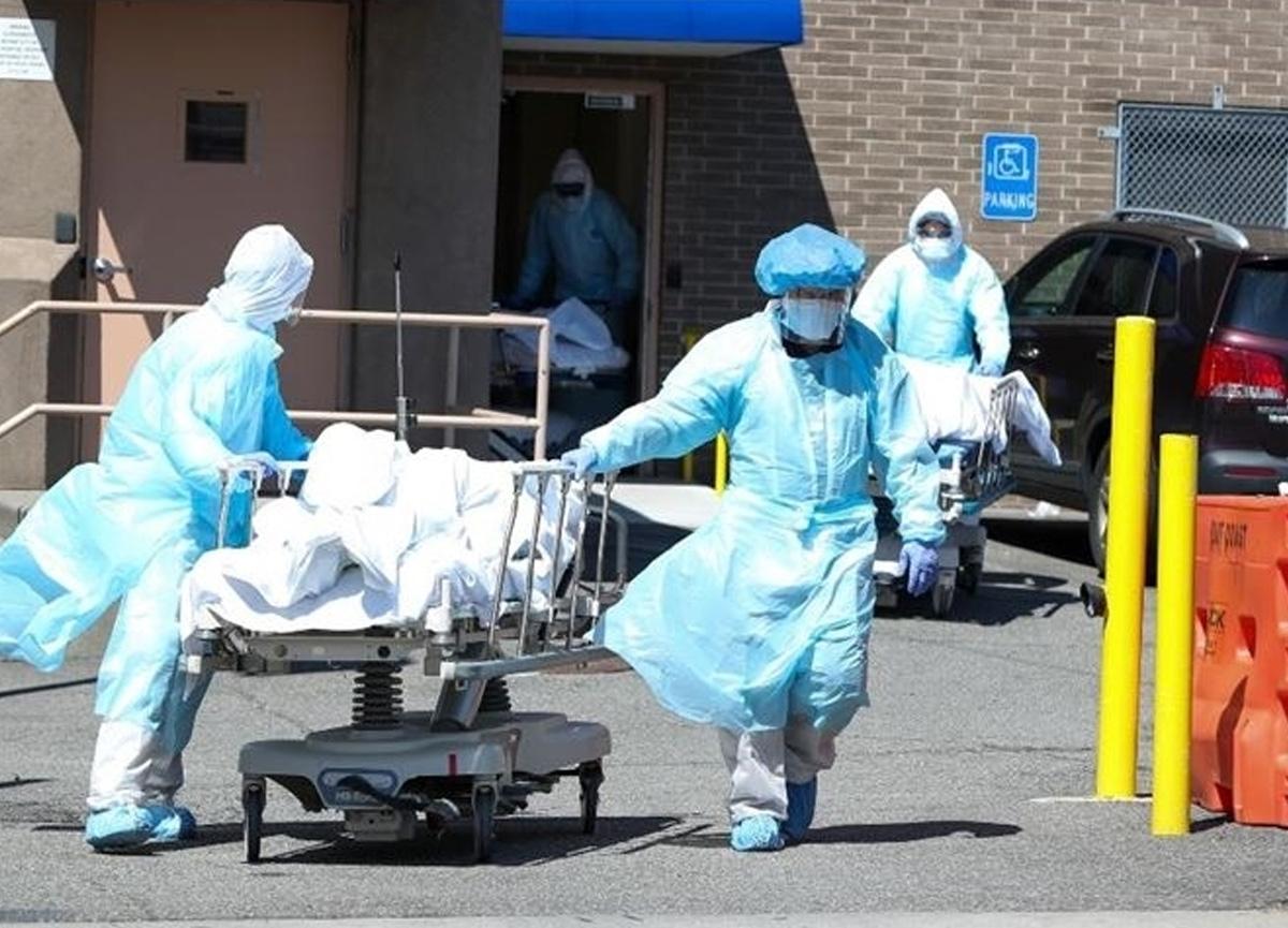 ABD'de son 24 saatte 525 kişi koronavirüs nedeniyle hayatını kaybetti