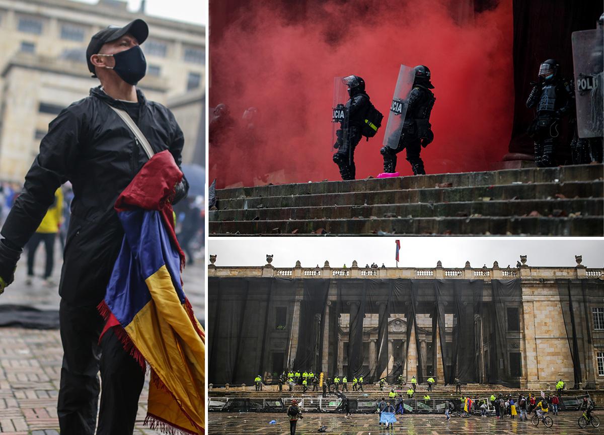 Dünya Kolombiya'daki olayları konuşuyor: Çok sayıda ölü, yüzlerce yaralı var