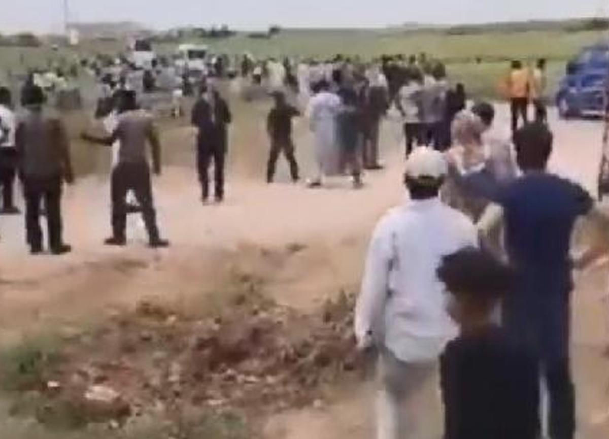 Kaçak elektrik kontrolü yapan ekiplere taşlı-sopalı saldırı!
