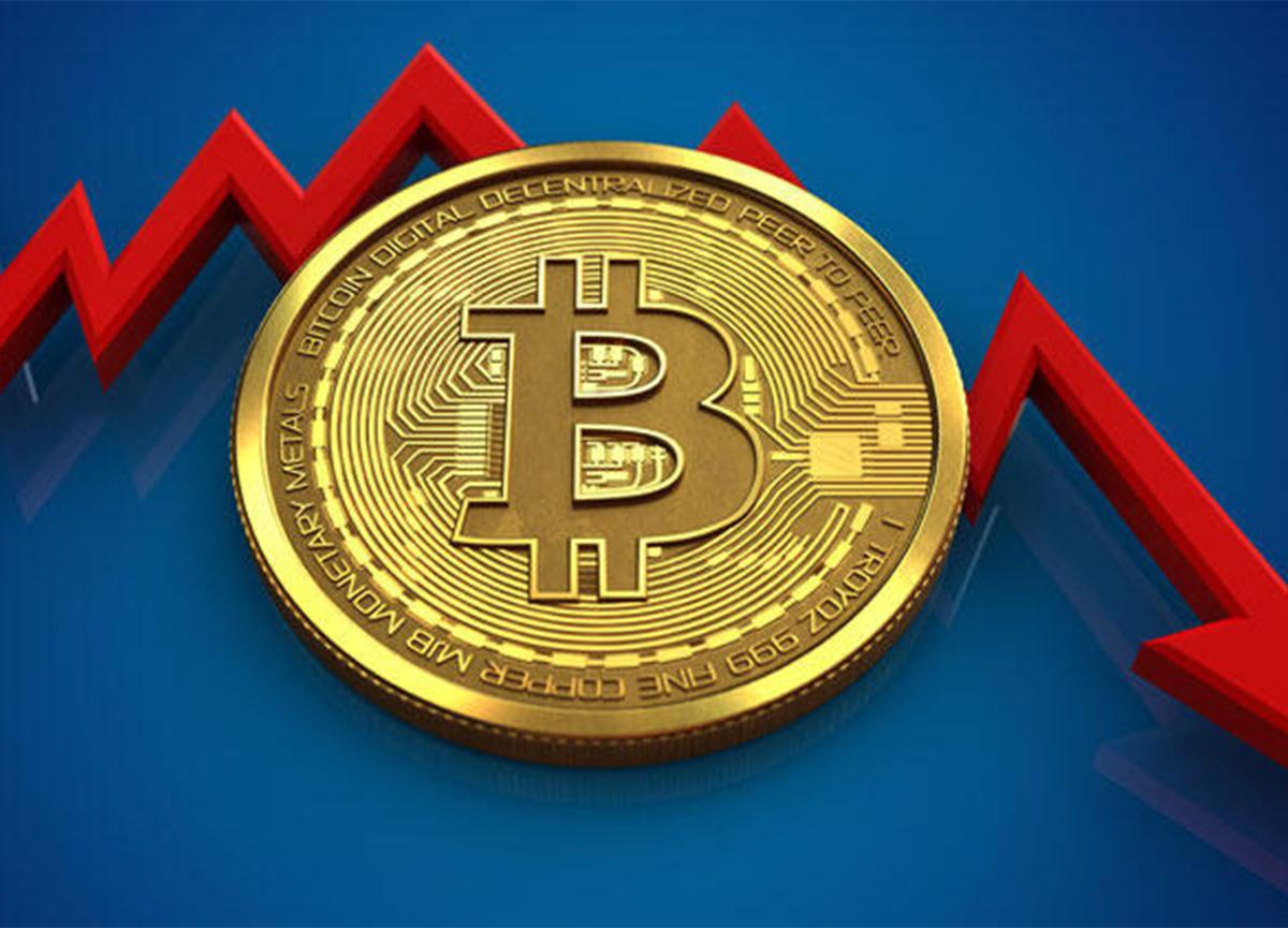 Bitcoin 58 bin dolar seviyesinden 55 bin dolara kadar geriledi