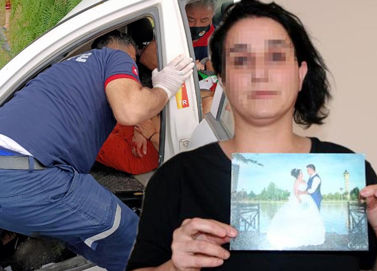 Eşinin kaza yaptığını duyunca apar topar hastaneye gitti, nişanlı olduğunu öğrendi