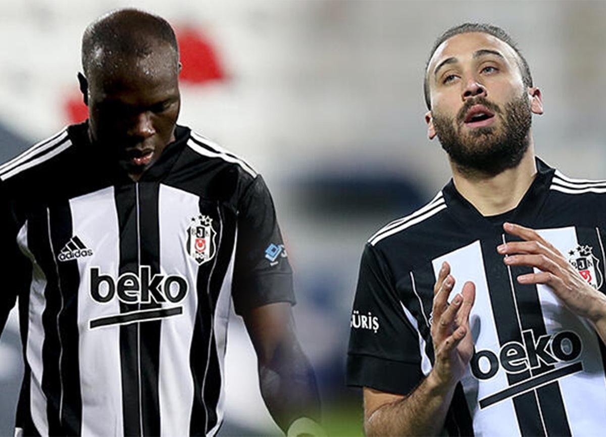 Son dakika: Beşiktaş'ta iki oyuncu PFDK'ya sevk edildi