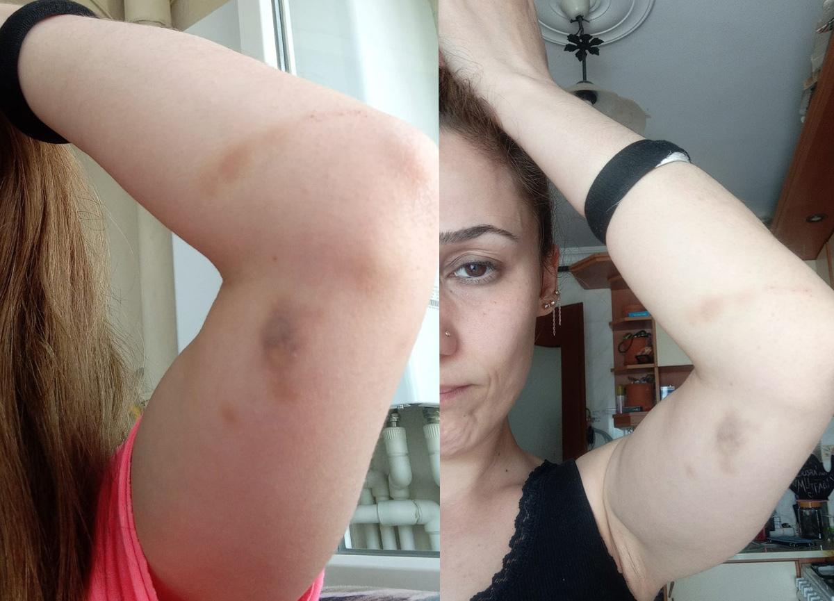 İzmir'de patronu tarafından kızlarının gözleri önünde dövüldü iddiası