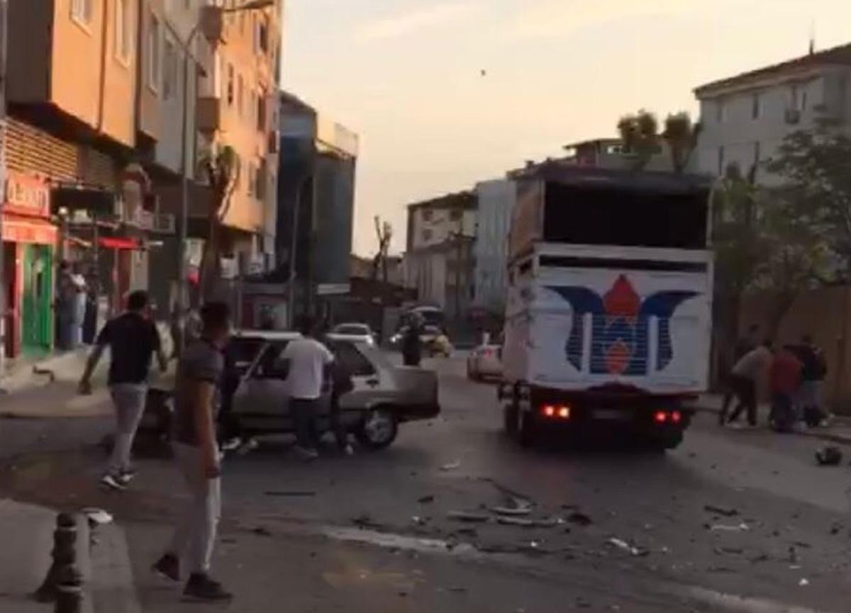 İstanbul Pendik'te drift dehşeti!