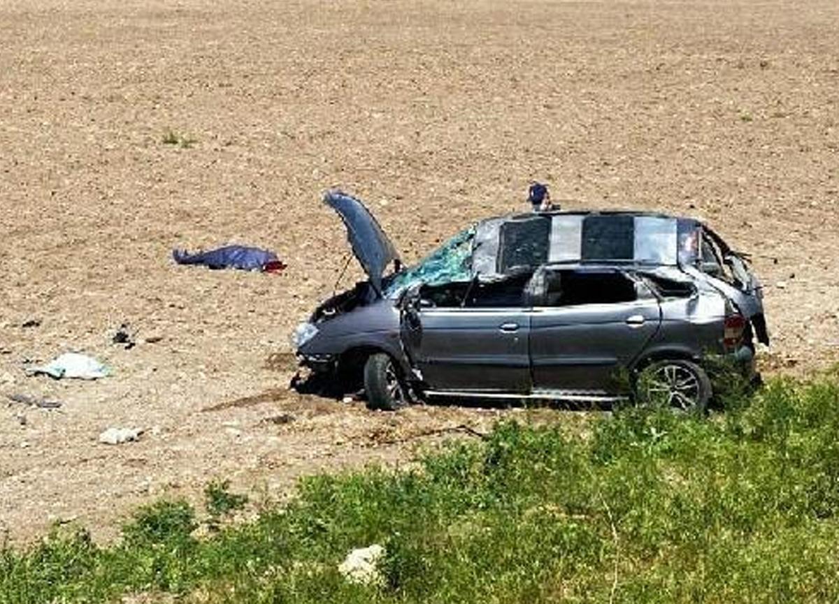 Takla atan aracın sürücüsü hayatını kaybetti!