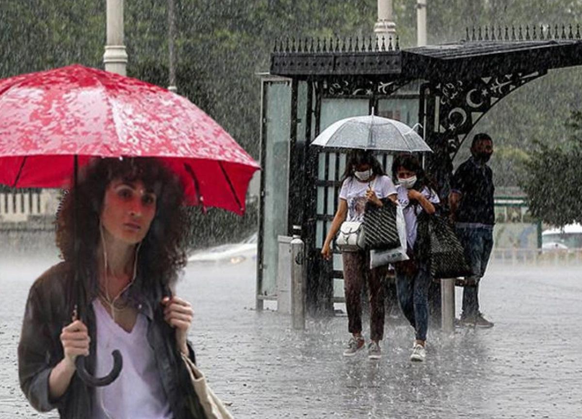 Meteoroloji bazı bölgeler için kuvvetli yağış uyarısında bulundu!