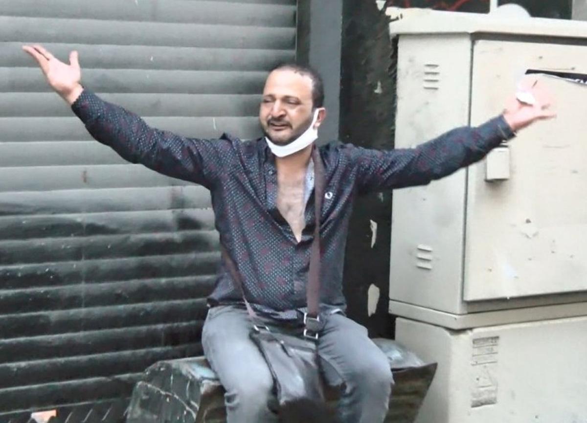 Ummanlı turist İstiklal Caddesi'nde gasp edildi, gözyaşlarını tutamadı...