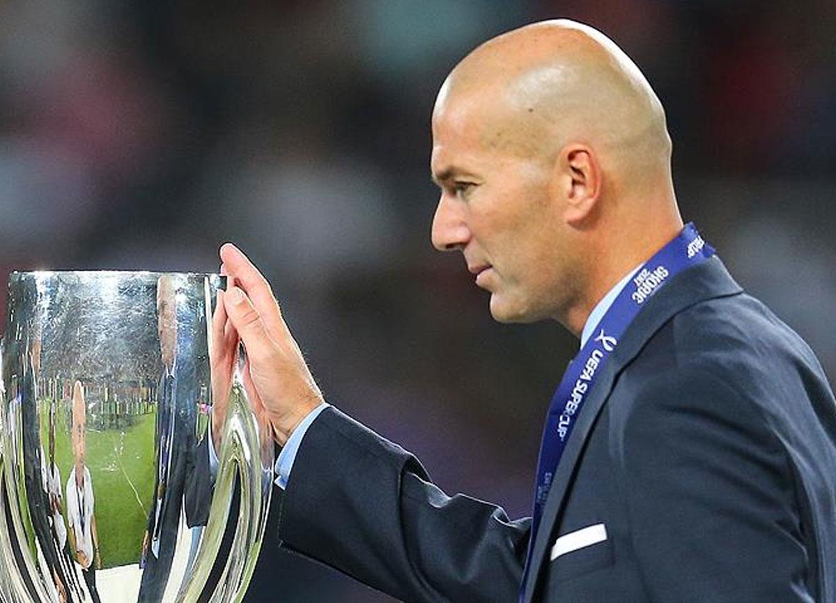 Real Madrid'de Zinedine Zidane ile yollar ayrıldı