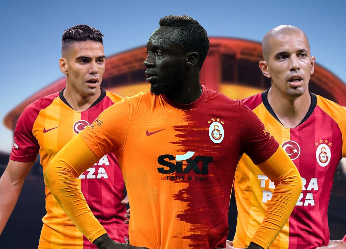 Galatasaray'da 186 milyon TL'lik operasyon! Falcao, Feghouli, Diagne