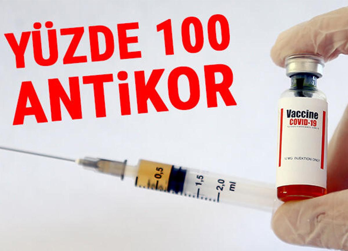 Yerli koronavirüs aşısından müjde! Yüzde 100 antikor