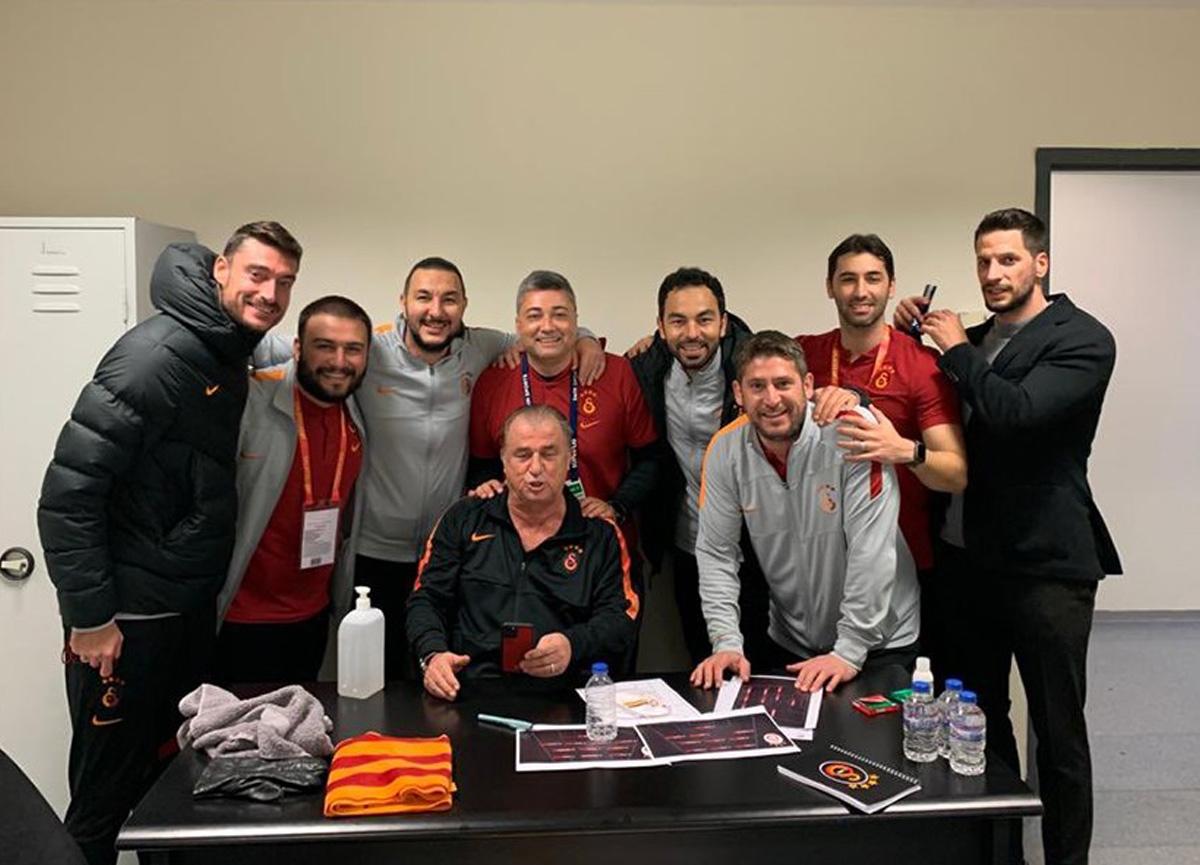 Fatih Terim'in ekibinde ayrılık: Levent Şahin ile Ümit Davala...
