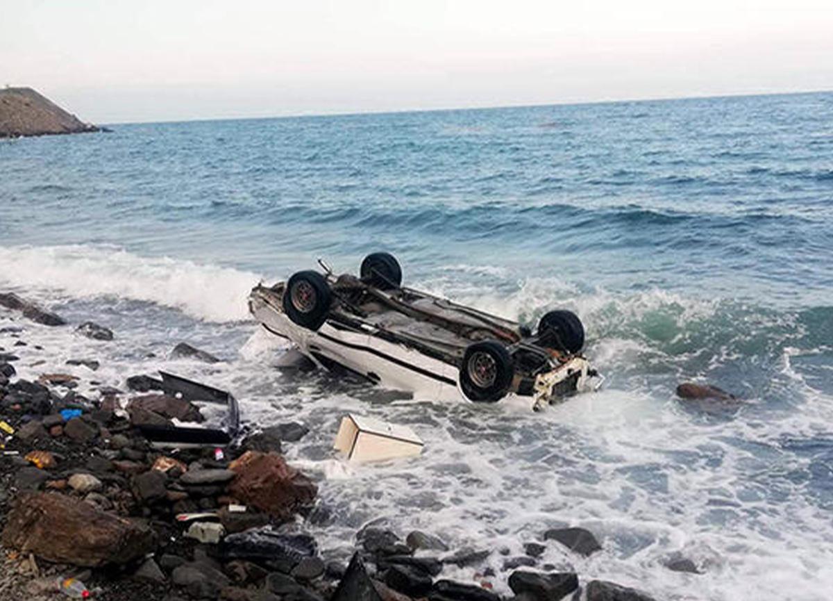 Tekirdağ'da otomobil denize uçtu! Yaralılar var