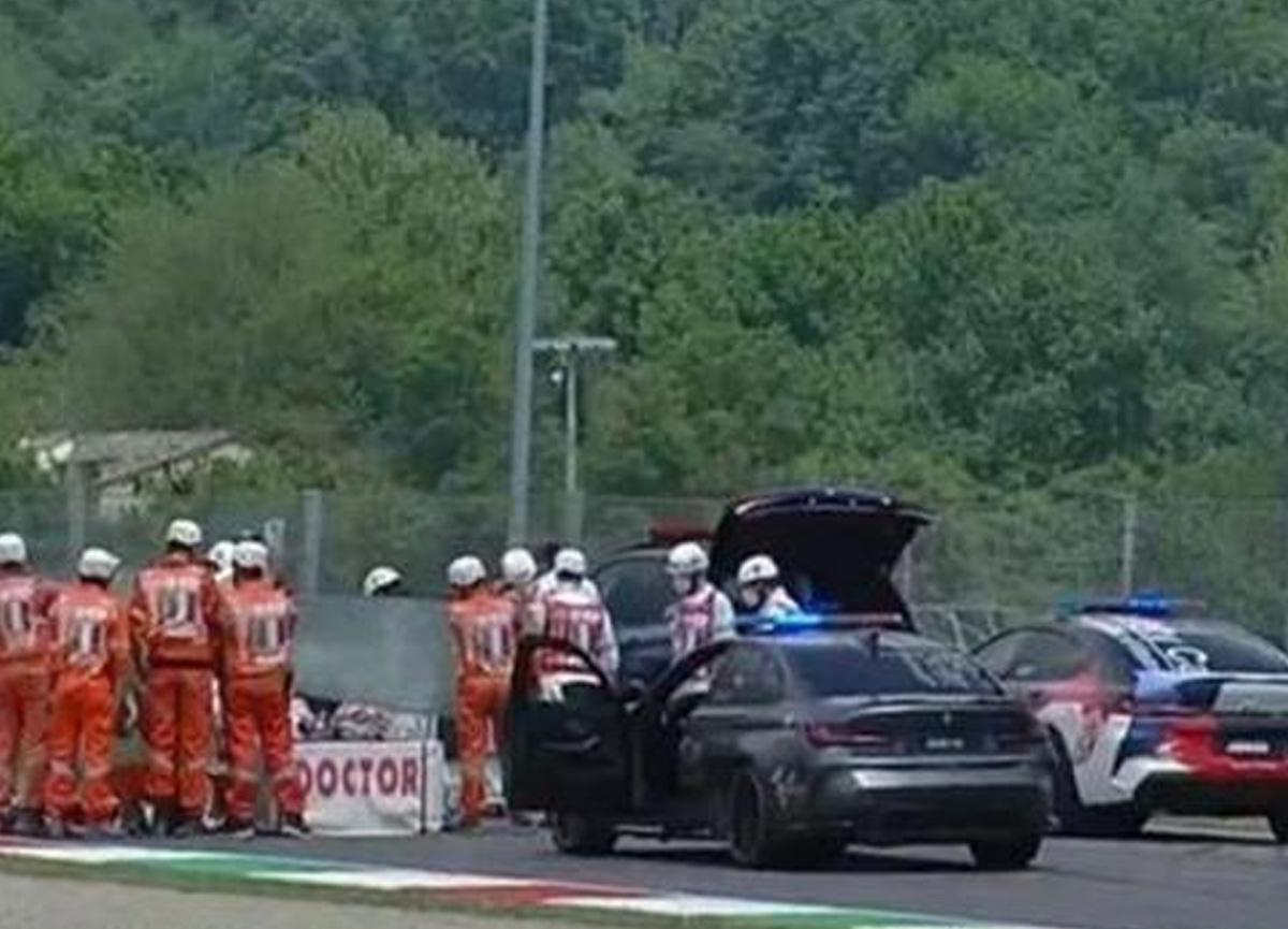 İtalya Grand Prix'sinde kan donduran kaza: Pilotu ezdiler